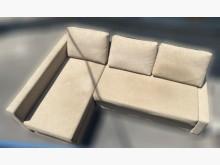 [9成新] A90502*咖啡色L型沙發 *L型沙發無破損有使用痕跡