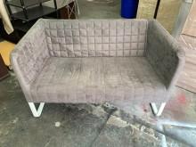 [9成新] ikea 4尺灰色雙人沙發雙人沙發無破損有使用痕跡