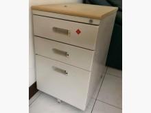 [9成新] 4輪移動三層辦公鐵櫃有鎖辦公櫥櫃無破損有使用痕跡