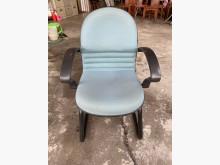 [9成新] 大慶二手家具 綠布鐵腳洽談椅電腦桌/椅無破損有使用痕跡