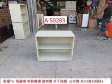 [9成新] A50283 鋼構電器櫃 公文櫃辦公櫥櫃無破損有使用痕跡