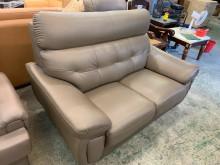 [9成新] 舒適好座合成皮雙人沙發雙人沙發無破損有使用痕跡