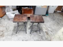 [全新] 手作橡木~摺椅一對餐椅全新