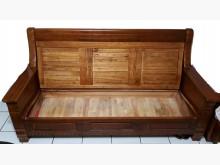 [95成新] 2人/3人可掀式實木沙發木製沙發近乎全新
