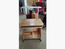 [9成新] 【尚典中古家具】松木色傳統電腦桌書桌/椅無破損有使用痕跡
