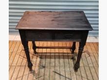 [8成新] 古早味二抽桌書桌/椅有輕微破損