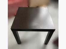 [7成新及以下] A92305 * 胡桃色小方桌茶几有明顯破損