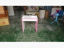 [8成新] 合運二手傢俱~雙色小書桌書桌/椅有輕微破損