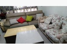 [9成新] 典雅高貴英式風玫桂花漂亮傢俱獨一雙人沙發無破損有使用痕跡