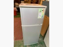 [9成新] 國際牌130公升雙門電冰箱冰箱無破損有使用痕跡