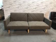 [全新] 新品咖啡色三人坐布沙發雙人沙發全新