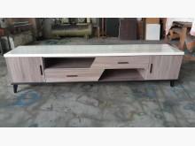[全新] 工廠出清7尺木心板仿石紋電視櫃電視櫃全新