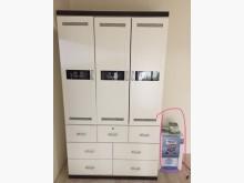 [95成新] 白色三門4尺衣櫃折現隨便賣撿便宜衣櫃/衣櫥近乎全新