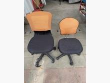 [9成新] 大慶二手家具 橘配黑網布電腦椅電腦桌/椅無破損有使用痕跡