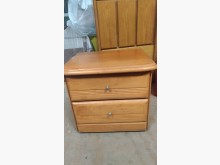 [9成新] 【尚典中古家具】松木色二斗床邊櫃床頭櫃無破損有使用痕跡