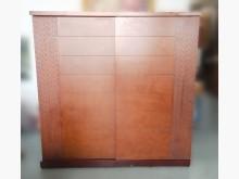 [8成新] B9282-胡桃7尺衣櫃*衣櫃/衣櫥有輕微破損