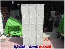[9成新] 權威二手傢俱/6格員工置物櫃辦公櫥櫃無破損有使用痕跡