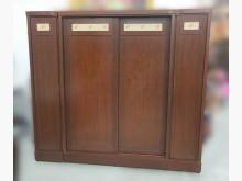 [7成新及以下] B1026*胡桃7尺衣櫃*衣櫃/衣櫥有明顯破損