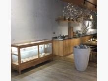 [95成新] 白橡木玻璃展示櫃其它櫥櫃近乎全新