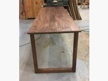 [95成新] 胡桃木榫接吧檯大桌餐桌近乎全新