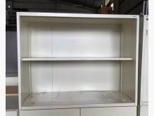 [7成新及以下] (二手)三尺開棚鐵櫃辦公櫥櫃有明顯破損