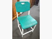 [7成新及以下] 二手補習班椅 塑鋼面+烤漆鐵腳書桌/椅有明顯破損