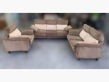 [9成新] A10104*咖啡色布沙發組多件沙發組無破損有使用痕跡