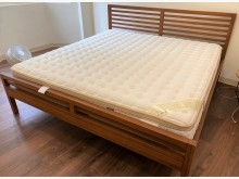 [95成新] 二手家具_美國萊儷絲夏琳床墊雙人床墊近乎全新