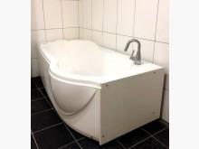 [7成新及以下] 移動式獨享泡澡浴缸其它家具有明顯破損