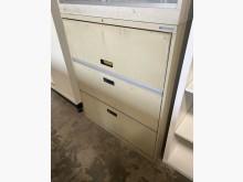 [7成新及以下] (二手)上掀二抽理想櫃辦公櫥櫃有明顯破損