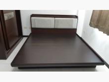 [9成新] 胡桃色木心板6尺掀床組雙人床架無破損有使用痕跡
