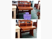 [9成新] 閣樓2438-全實木書桌書桌/椅無破損有使用痕跡