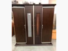 [9成新] B101902*胡桃滑門衣櫃*衣櫃/衣櫥無破損有使用痕跡