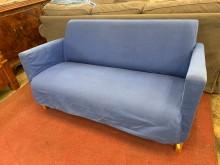 [9成新] IKEA-兩人布沙發組(可拆洗雙人沙發無破損有使用痕跡