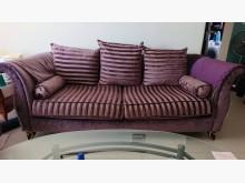 [9成新] 二手歐式三件組沙發出清,歡迎出價多件沙發組無破損有使用痕跡