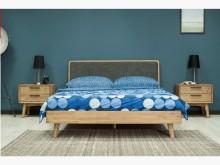 [全新] SEB原木6尺雙人床$26800雙人床架全新