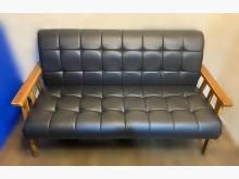 [全新] 全新滿天星3人黑皮沙發雙人沙發全新