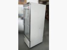 [8成新] RE10212*單門玻璃營業冰箱冰箱有輕微破損