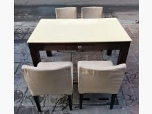 [8成新] 三合二手物流(大理石餐桌椅組)餐桌椅組有輕微破損