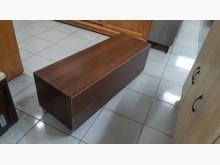 [9成新] 九成新木心板4尺開放式穿鞋椅鞋櫃無破損有使用痕跡
