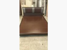 [9成新] 【尚典中古家具】胡桃色5呎掀床組雙人床架無破損有使用痕跡