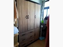 [95成新] 極新胡桃色雙層抽屜衣櫃衣櫃/衣櫥近乎全新