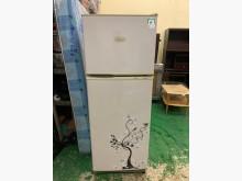 [8成新] 聲寶 250L雙門冰箱冰箱有輕微破損
