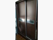 [9成新] 實木5尺深咖啡色雙門衣櫥賣屋求現衣櫃/衣櫥無破損有使用痕跡