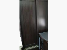 [9成新] 4尺咖啡色推門衣櫃賣屋隨便賣衣櫃/衣櫥無破損有使用痕跡