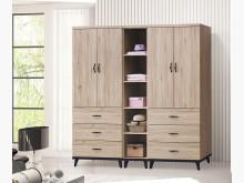 [全新] 薇妮淺橡木6.5尺衣櫃19770衣櫃/衣櫥全新