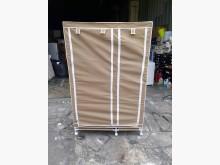 [7成新及以下] 3.5尺簡易式衣物收納架*套房衣櫃/衣櫥有明顯破損