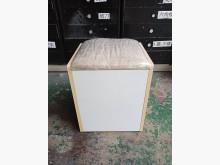 [9成新] 白色布墊可收納輔助椅*造型椅*沙發矮凳無破損有使用痕跡