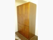 [95成新] 實木4尺三門衣櫥衣櫃/衣櫥近乎全新