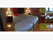 [8成新] 飯店結束營業 德泰彈簧床 便宜賣雙人床墊有輕微破損